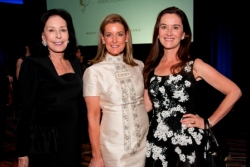 MIC Gala honorary co-chair Alexandra Nichols, Cathy Busch and Dustin O'Regan