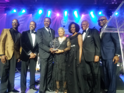 Dorothy Leavell receives the Lester H. McKeever Jr., Individual Service Award