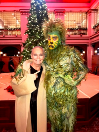 With the Grinch at Macy's