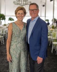 Ravinia Festival president/CEO Welz Kaufman and WB chairman Judy Castellini