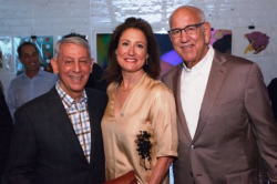 Marwen founder and chairman emeritus Steven P. Berkowitz, Antonio Contro and Dan Epstein