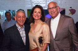 Marwen founder and chairman emeritus Steven P. Berkowitz, Antonio Contro and Dan Epstein