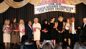 LSCRF Founding Members receive The Pink Ribbon Awards Founders Award