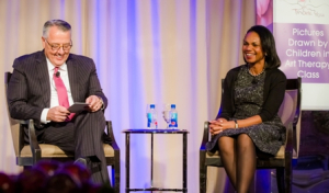 Greg Brown (Motoroloa Solutions CEO), Condoleeza Rice (former Secretary of State)