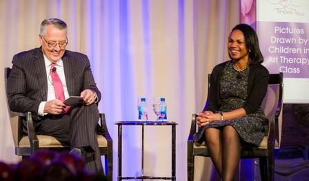 Greg Brown (Motorola Solutions CEO)  Condoleezza Rice (Former Secretary of State)
