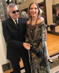 Michael Kutza with Susan Gohl.