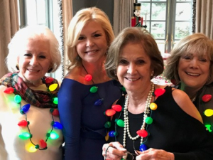 Lynda Silverman, Bobbi Panter, Myra Reilly and friend