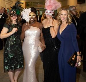 Jacqueline Hill, Veronica Castner, Dayna Moser and Erin Schael