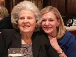 Mary Cameron Frey with her great friend and former boss, Joycelyn Winnecke