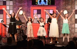 """Students from Porchlight's """"Make Your Own Musical Summer Camp""""!"""