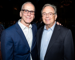 Hubbard Street Dance Chicago Artistic Director Glenn Edgerton, Dance for Life 2018 Honoree and Hubbard Street Dance Chicago Founding Artistic Director Lou Conte