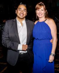 Nico Rodriguez and Jennifer Edgcomb