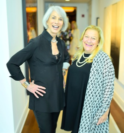 Holly Hunt and Jill Samuels, founder of Films Without Borders