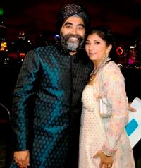 Gurpreet and Amrit Singh