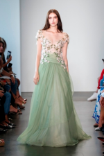 Pamella Roland gown from 2019 Spring/ Summer collection