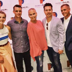 On the red carpet with Chicago Fire's Kara Killmer, Jesse Spencer and David Eisenberg and Chicago P.D. 's John Seda