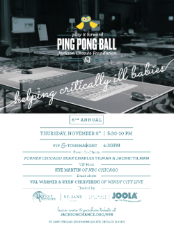 Jackson Chance Ping Pong Ball at the St. Jane on November 8