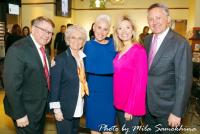 Dennis and Judy Schwartz, Laura Schwartz, Andrea Stryker and Dr. Steve Stryker.