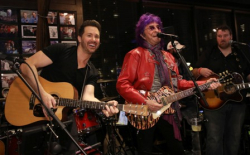 "Windy City Live's Ryan Chiaverini sings ""Eye of the Tiger"" with Survivor founder Jim Peterik!"