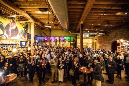TSG 20th Anniversary kickoff crowd shot at City Winery  photo by Robin Subar (2)