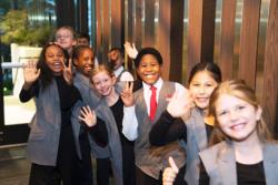 Chicago Children's Choir singers