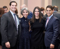 Peter and Sheila Eisenberg, Lesley Kiferbaum and Scott Eisenberg