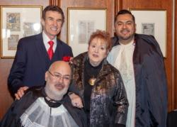Kevin Sullivan (front) Al Menotti (L), Adrienne Squires and Francisco Perez