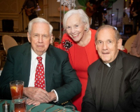 Jim and Ellen O'Connor with Msgr. Ken Velo