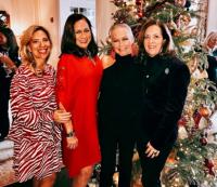With Sharyl Mackey, Jean Antoniou and Mary Pat Burns