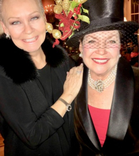 With elegant and dynamic hostess Nancy Traylor