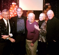 With Michael Kutza, Mark, Jim Flint and Chuck Jordan