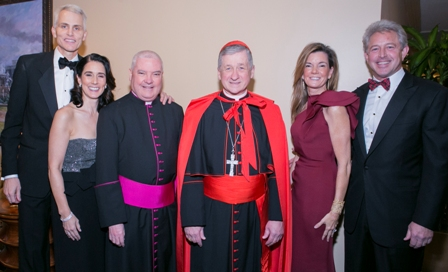 IMG_004 Chairs Michael and Claire O'Grady  Monsignor Cardinal Rhonda and Scott Swanson  Vice-Chairs