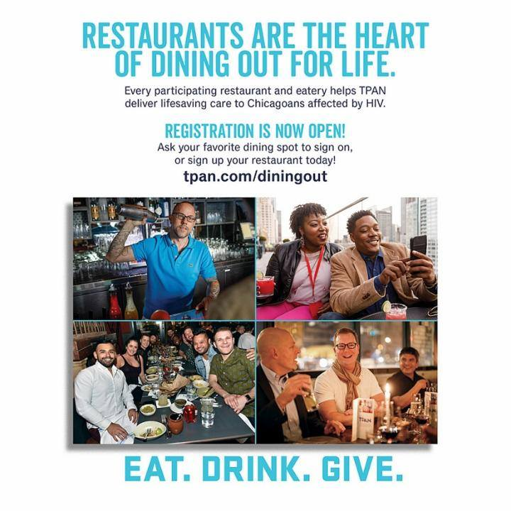Dining Out For Life Chicago - Be a Dining Location on April 25