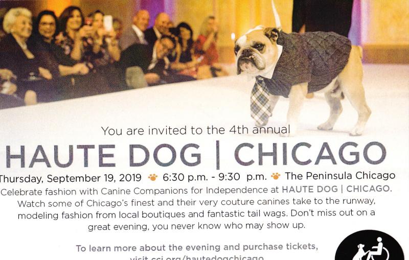 Haute Dog Chicago invite