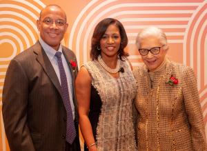 John W. Rogers  Jr.  CCCS CEO Dara Munson  Honorary Chair Barbara Bowman