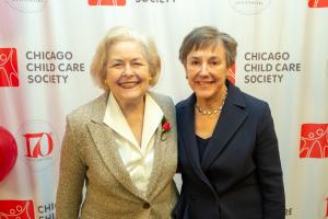 CCCS Board of Directors Life Member Judy Block and Karen Thomas