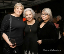 #239--Diane Hollingsworth  Dr. Sandy Goldberg and Brenda Arelano.