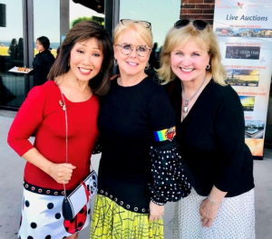 Linda Yu  Peach and Jill Devaney