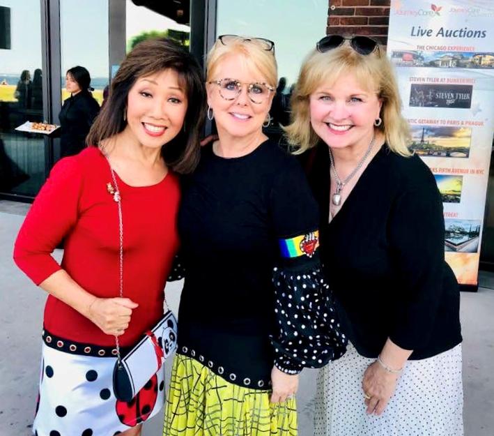 Linda Yu  Peach and Jill Devaney