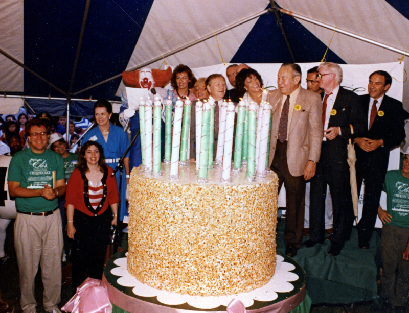 First cake in 1987