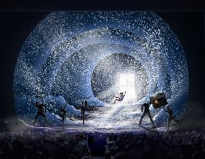 Chicago Theatre Cirque holiday show