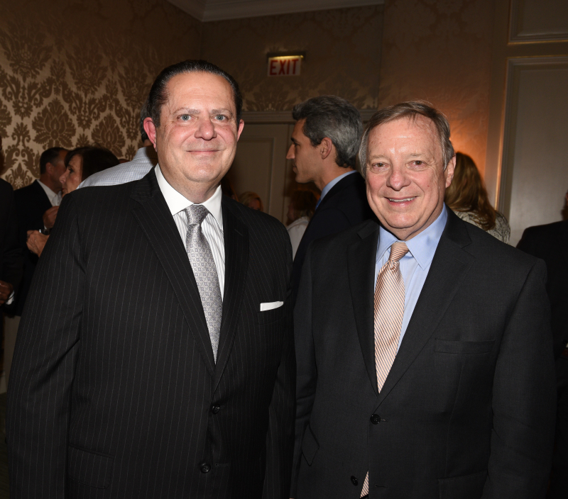 Honorees Dennis Abboud and U.S. Senator Dick Durbin