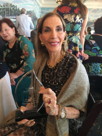 Susan Gohl--Animaltarian Award from Humane Society  2019 Naples Yacht Club.