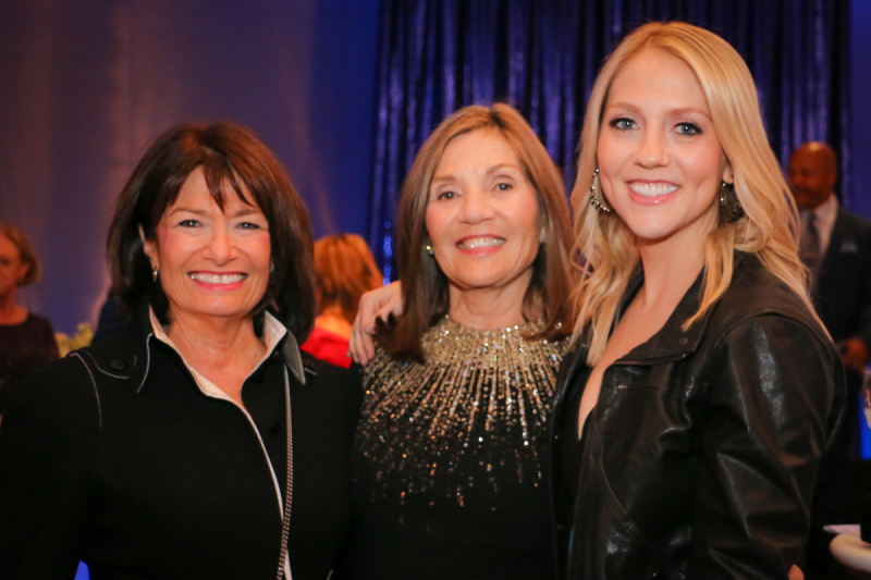 Adrienne Weiss Martha Melman and Molly Melman