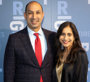 Dr. Omar Lateef  CEO  Rush University Medical Center and Dr. Najia Shakoor - Hinsdale