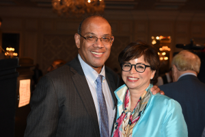 John Rogers  Jr. and Valerie Jarrett