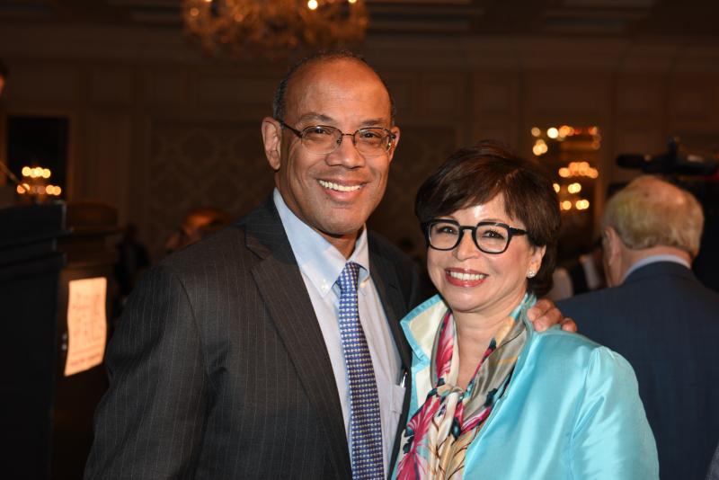 John Rogers  Jr. and Valerie Jarrett
