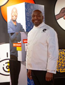 Black Creativity Innovator Chef Erik Williams inside Innovation Studio_Jackie Guataquira  Museum of Science and Industry
