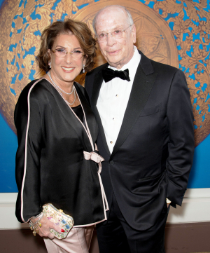 Women's Board President Donna Greenberg and Jack Greenberg (Trustee) by Bob Carl