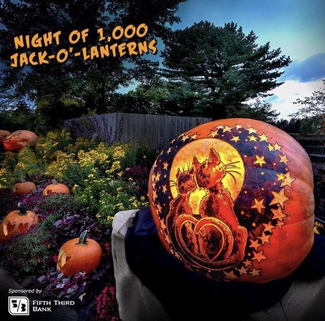 Chicago Botanic Garden pumpkin image